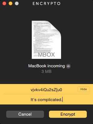 Encrypto File Encryption
