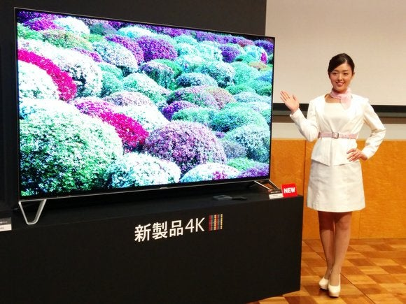 sharp 8k tv yellow subpixel