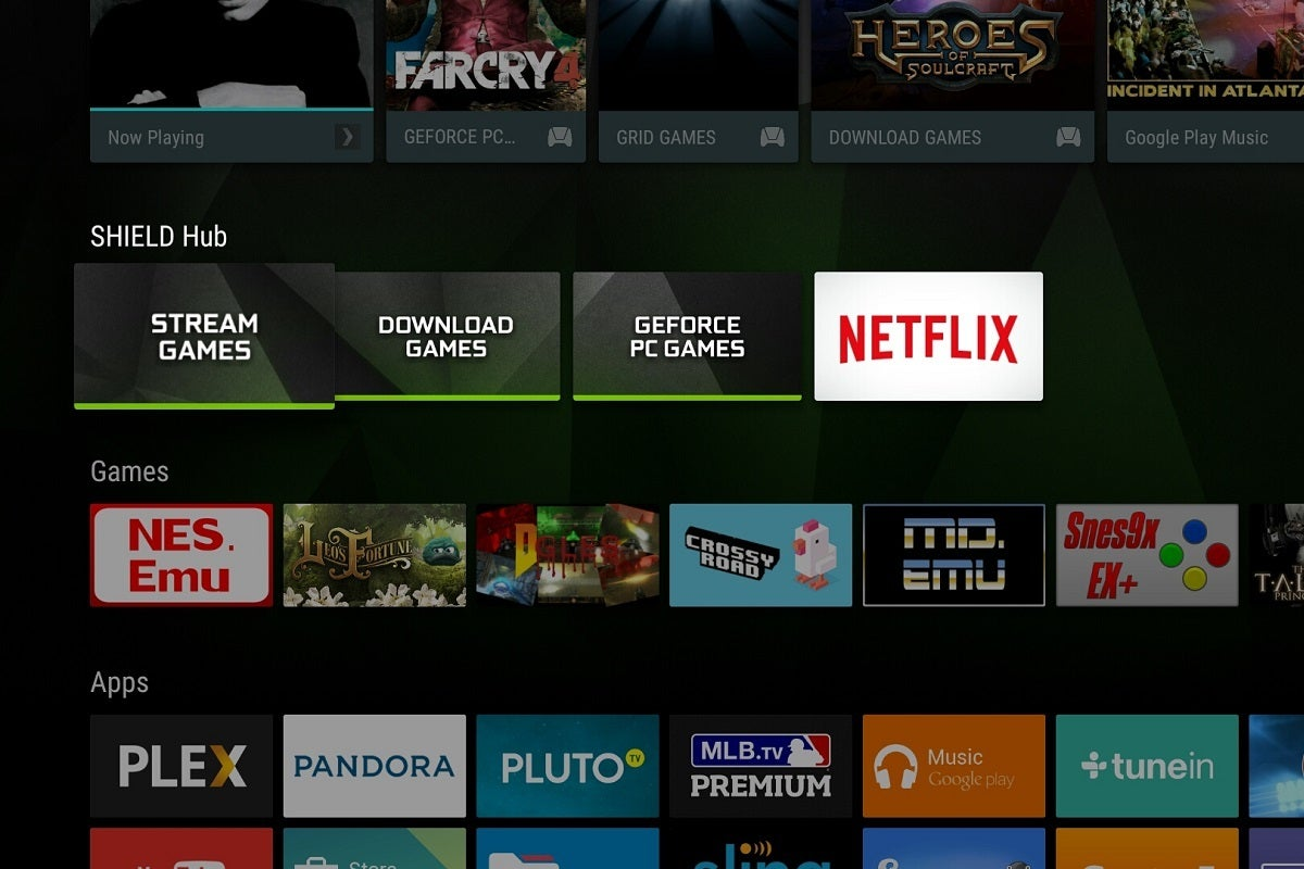 How to rearrange the Android TV home screen on Nvidia Shield and