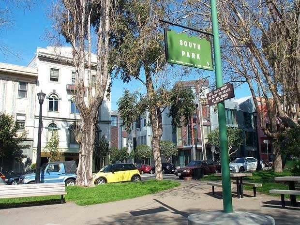 South Park in San Francisco where Twitter was born