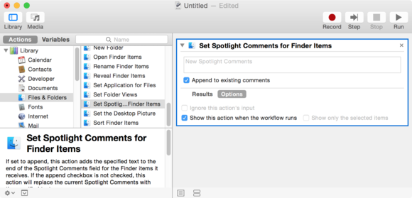 spotlight workflow
