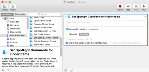 spotlight workflow