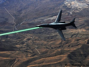 DARPA tests laser weapon for fighters, drones