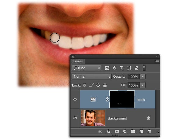 How To Whiten Teeth In Photoshop Or Photoshop Elements Macworld