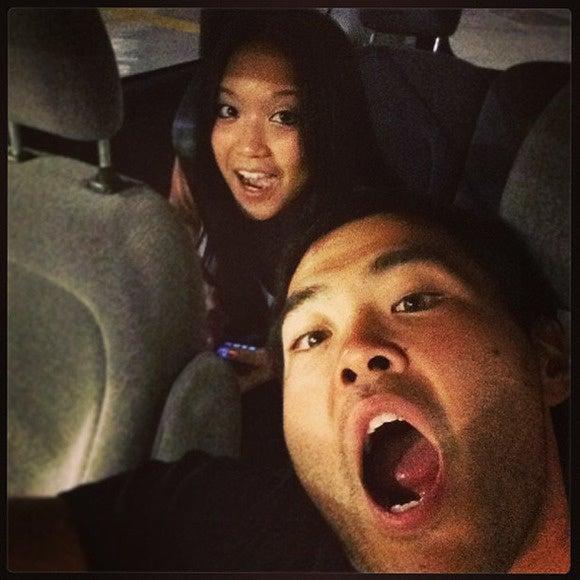 thelist selfies car selfie