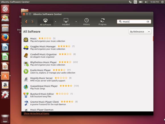 ubuntu software center