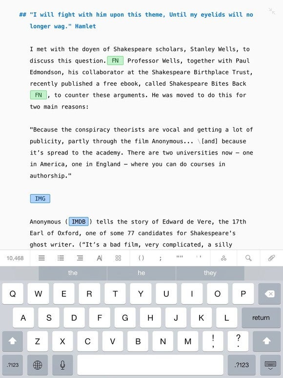 Ulysses for iPad 2.0