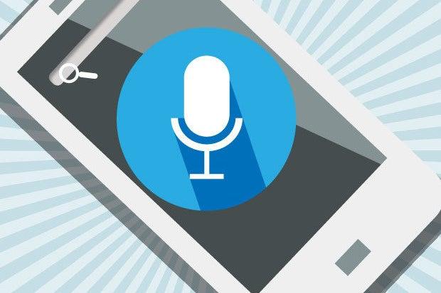 voice commands smartphone search