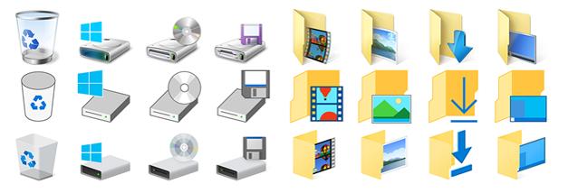 Windows Office New Icons