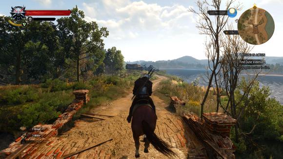 witcher 3 horseback