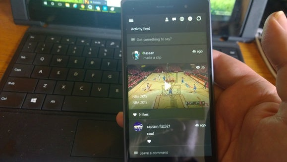 Windows 10 Build 10080 Xbox app
