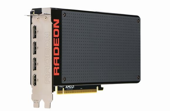 amd radeon fury x front view