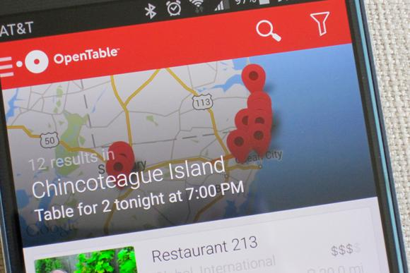 android restaurant apps