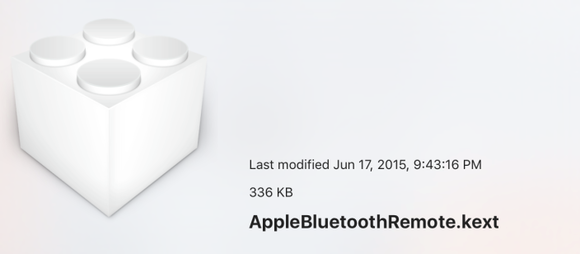 apple btremote file