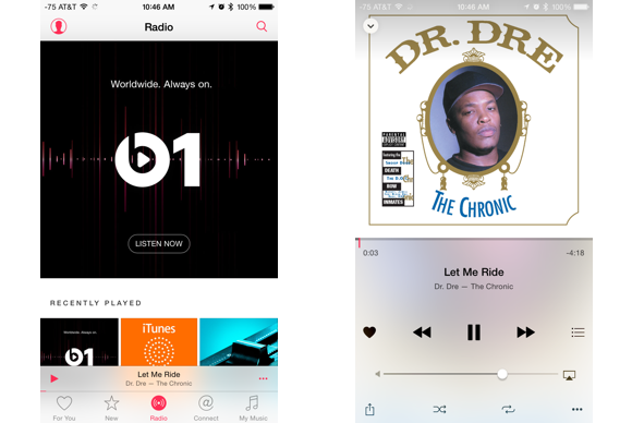 apple music guide just play