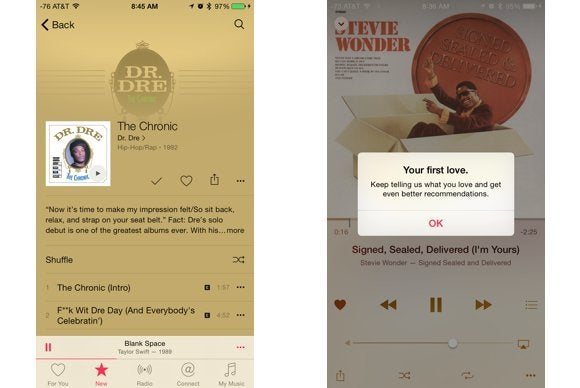 apple music guide navigate