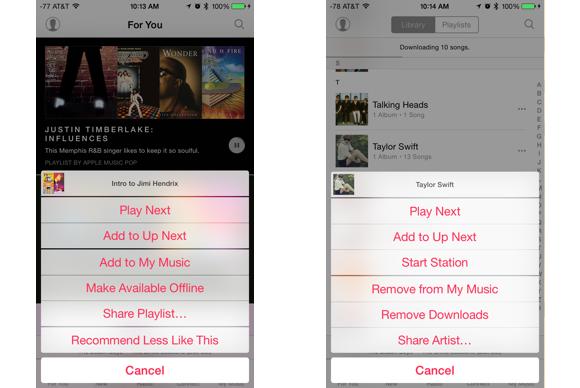 apple music guide offline