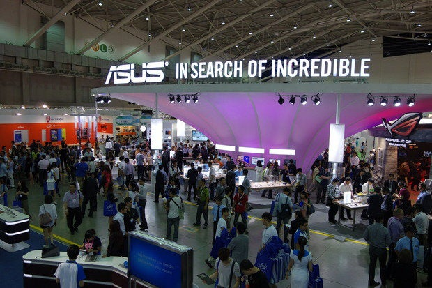 asus booth at computex