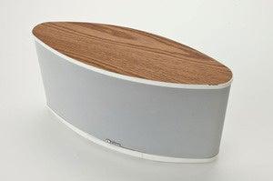 axiomair white wood finish