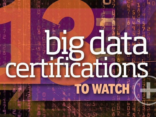 big data certs 13
