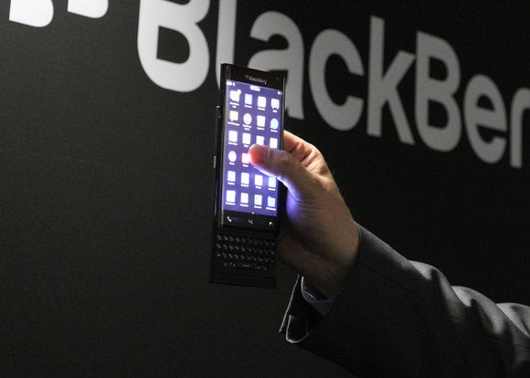 BlackBerry releasing Android smartphone slider privacy priv security