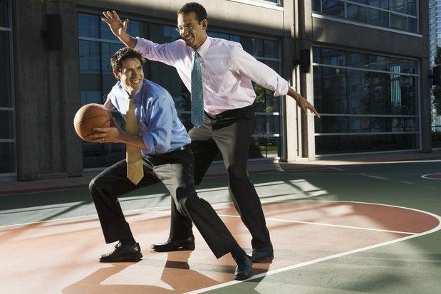 businessmen basketball ts