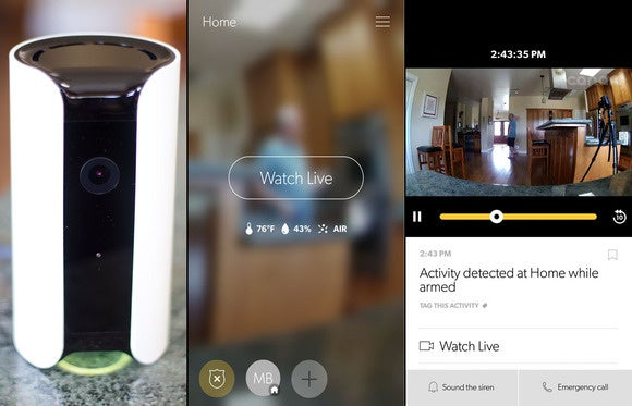 Y-cam HomeMonitor Indoor Wireless Security Camera with Free