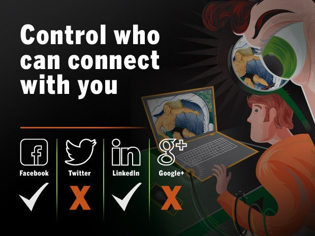 control who can connect with you 3