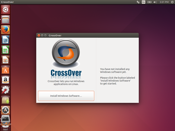 crossover on ubuntu
