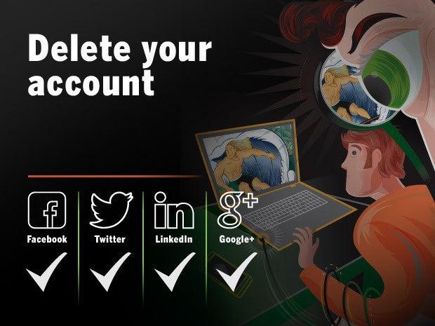 delete your account 22