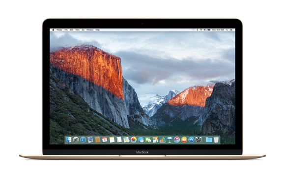 el capitan macbook desktop
