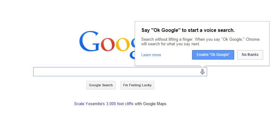 ok google ok goo