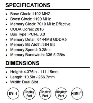 evga gtx 980 ti sc specs