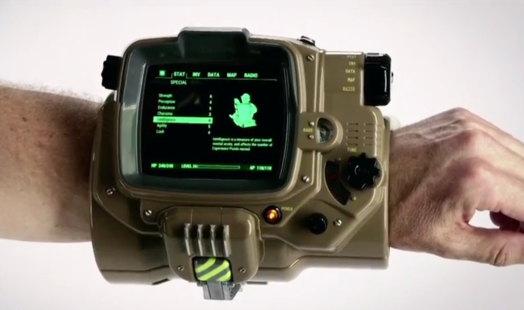how to open pip boy fallout 4 ps4