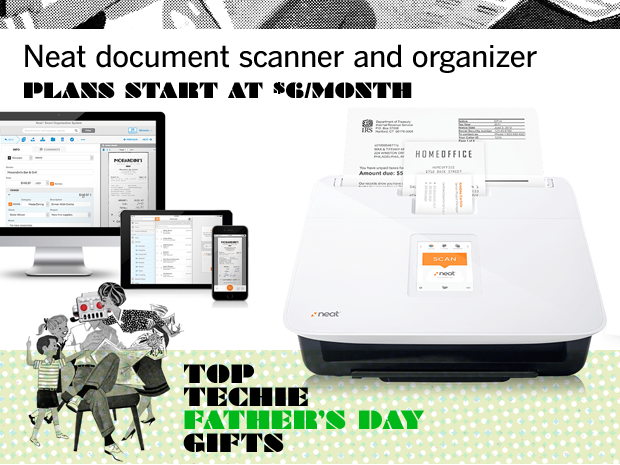 Neat document scanner and organizer