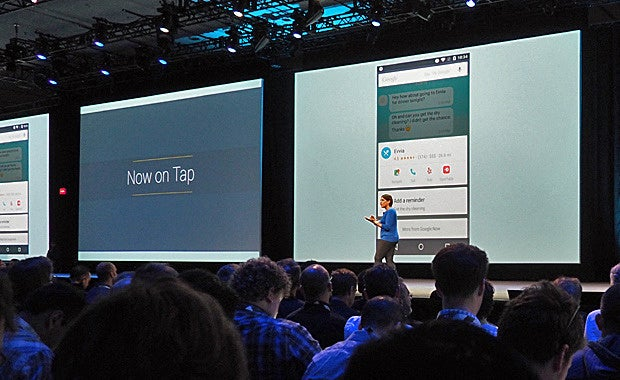 Google Now on Tap - Google I/O
