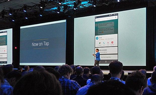 Google Now on Tap - Google I/O