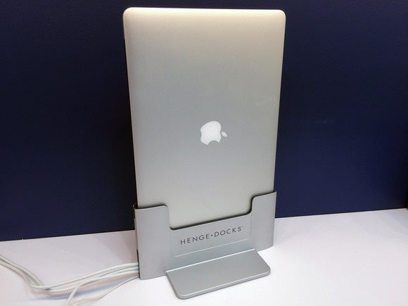 Henge Vertical Dock Review Your Mac Laptop Stands Tall