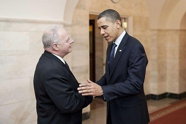 howard schmidt and barack obama