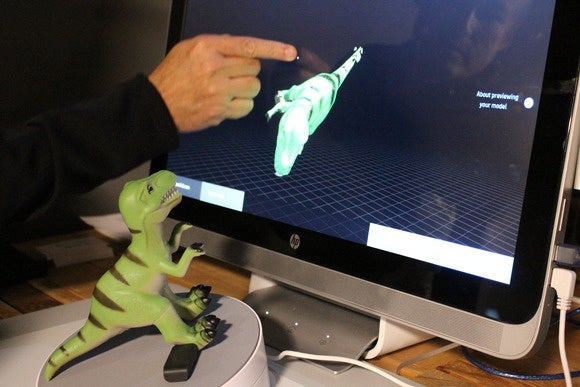 hp sprout hp 3d image capture dinosaur june 2015 9