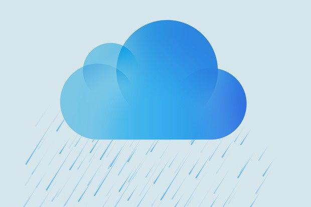 icloud rain