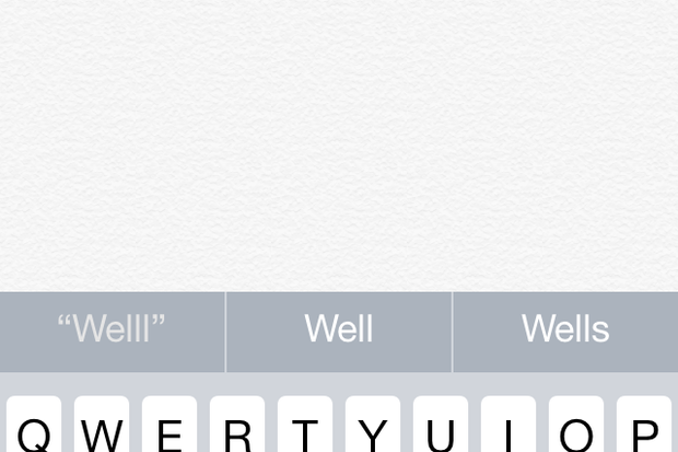 iPhone autocorrect
