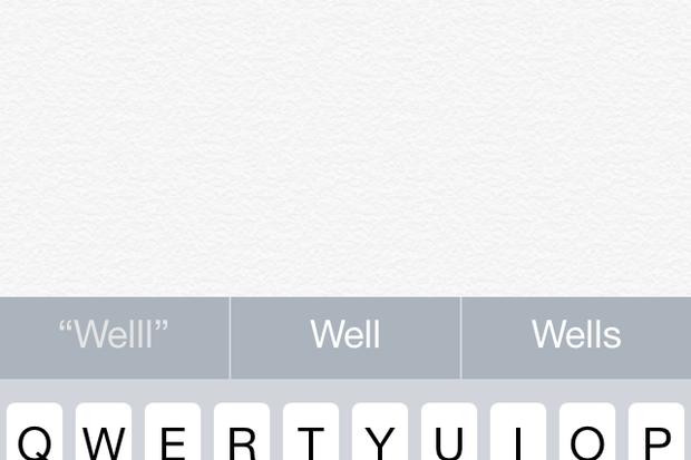 iPhone autocorrect