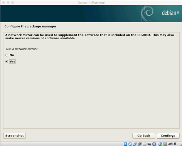 install debian linux 8.1 virtual machine 19