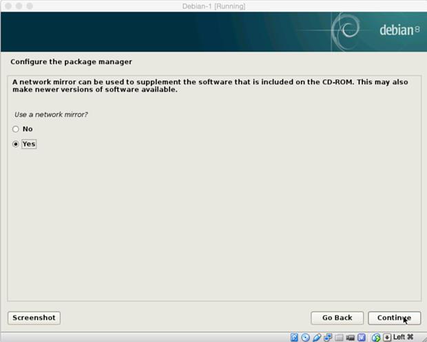 install debian linux 8.1 virtual machine 19