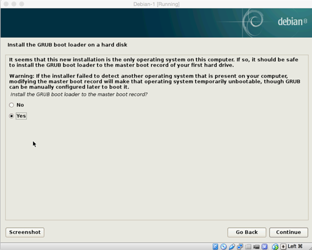 install debian linux 8.1 virtual machine 20