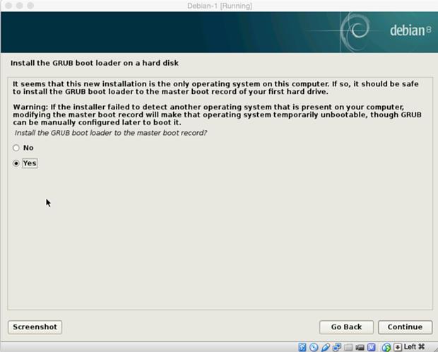 install debian linux 8.1 virtual machine 20