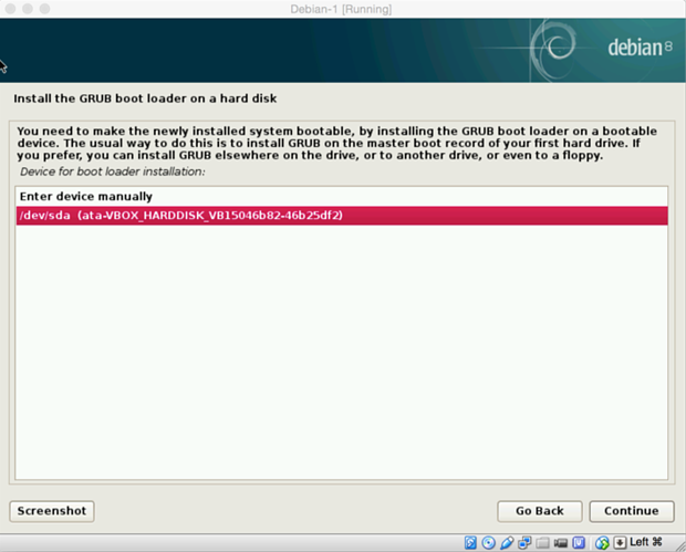 install debian linux 8.1 virtual machine 21