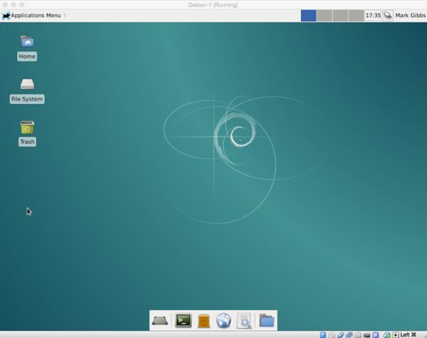 install debian linux 8.1 virtual machine 25