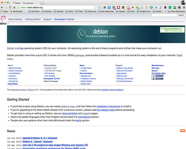 install debian linux 8.1 virtual machine 3